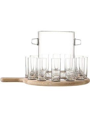 LSA Oak vodka paddle board set