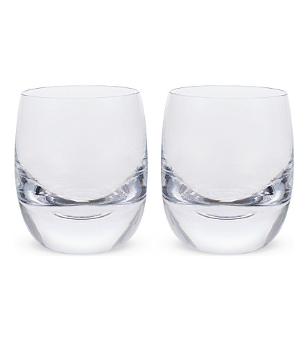 LSA Olaf glass tumblers set of two 275ml