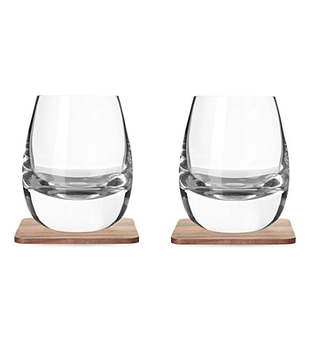 LSA Set of two islay tumblers and coasters