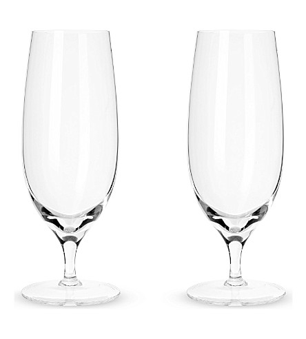 LSA Set of two pilsner glasses