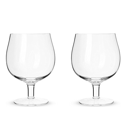 LSA Set of two bar craft beer glasses