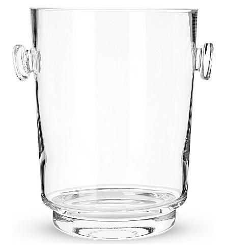 LSA City bar champagne bucket h24cm clear
