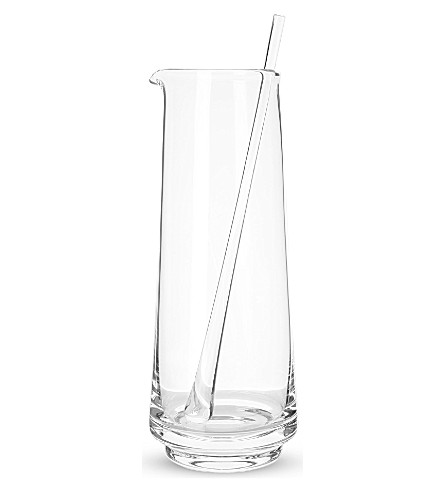 LSA City bar jug & stirrer 2l clear