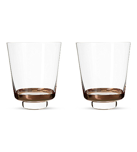 LSA Edge set of two tumblers