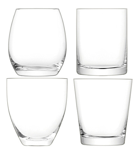 LSA Lulu assorted tumblers set of four