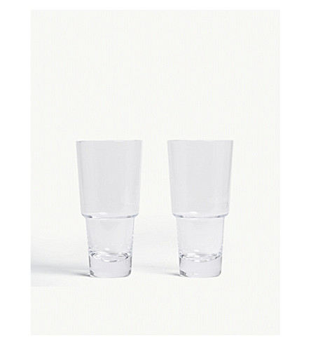 LSA Mixologist cocktail highballs set of two