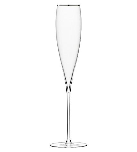 铂金双香槟长笛
