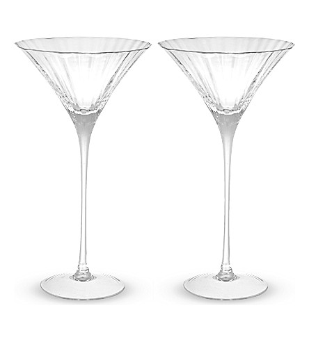 LSA Aurelia cocktail glasses pair
