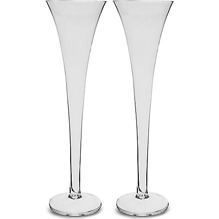 LSA Bar pair of champagne flutes