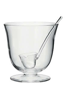 LSA Serve punch bowl and ladle 25cm