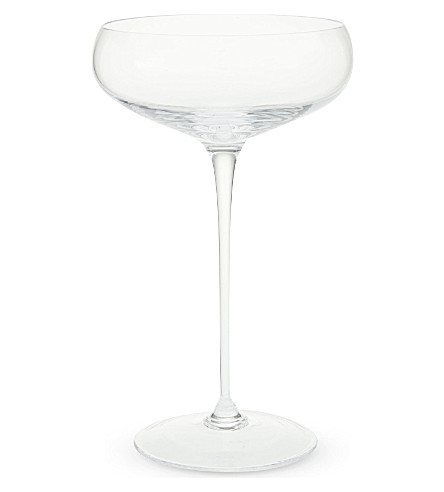 LSA Wine set of four champagne saucers