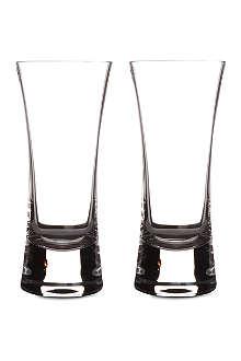 LSA Moya pair of highball glasses