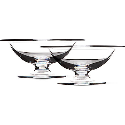 LSA Serve pair of low dishes