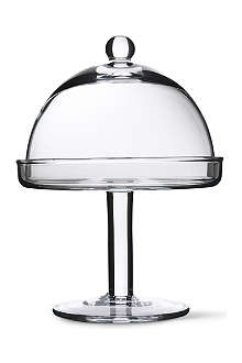 LSA Vienna cake stand and dome