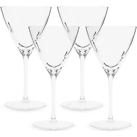 LSA Set of four Charleston wine glasses 400ml