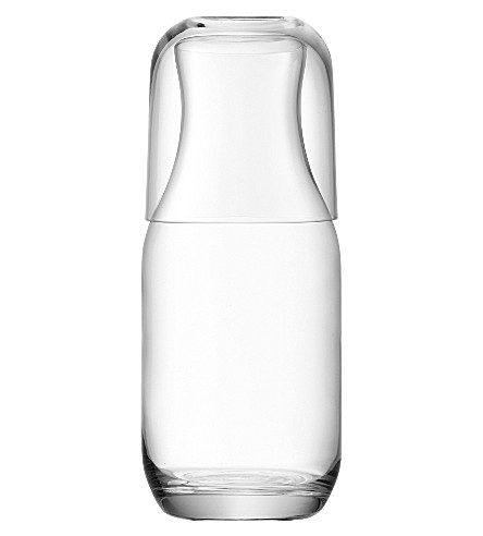 LSA Uno carafe with tumbler clear
