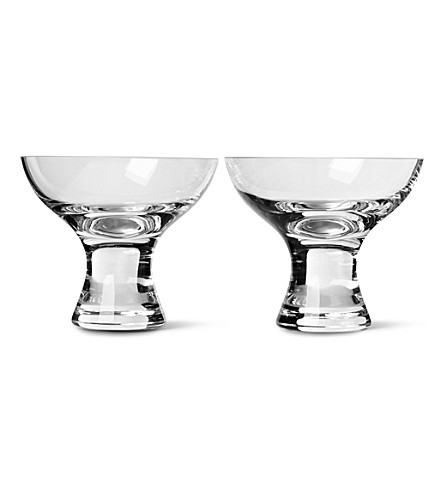 LSA Elina pair of dessert dishes
