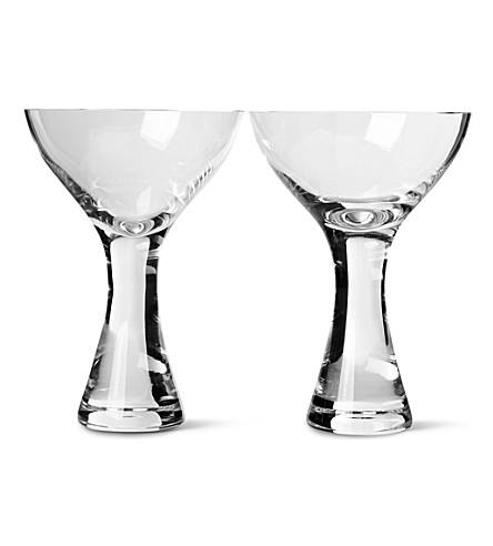 LSA Elina cocktail glasses pair