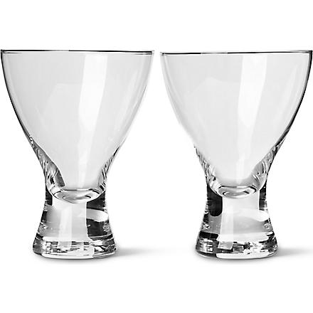 LSA Elina water/wine glasses pair