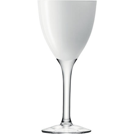 LSA Milo White wine glasses set of four