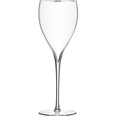 LSA Savoy Platinum wine glasses pair