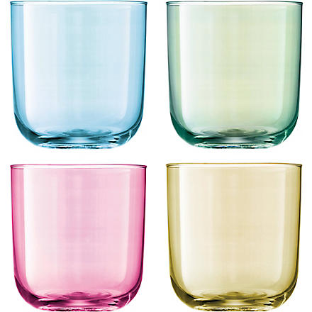 LSA Set of four Polka tumblers