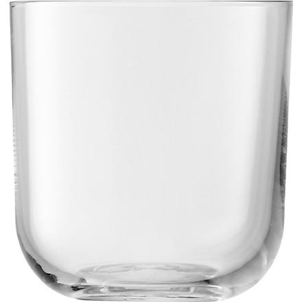 LSA Uno Clear set of four tumblers