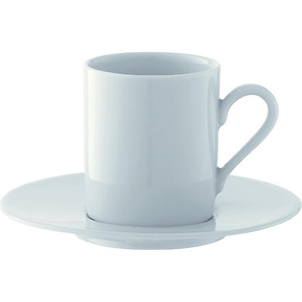 LSA Dine set of four espresso cups and saucers