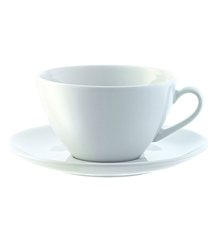 LSA Dine set of four cappuccino cups and saucers
