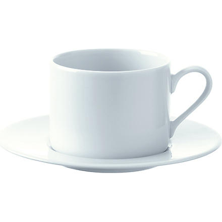 LSA Dine set of four tea/coffee cups and saucers
