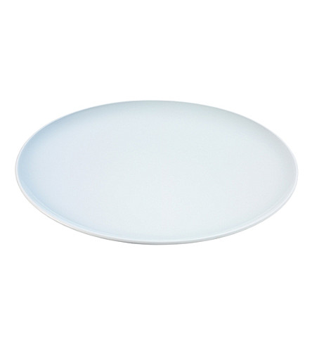 LSA Dine set of four dinner plates 28cm