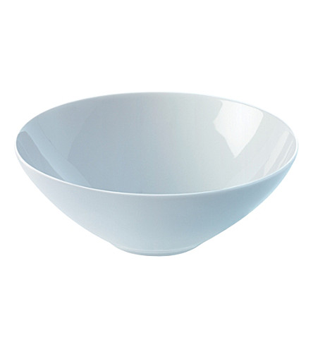 LSA Dine set of four cereal/dessert bowls 18cm
