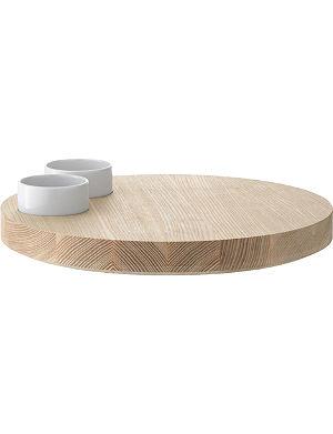 LSA Lotta serving platter 29cm