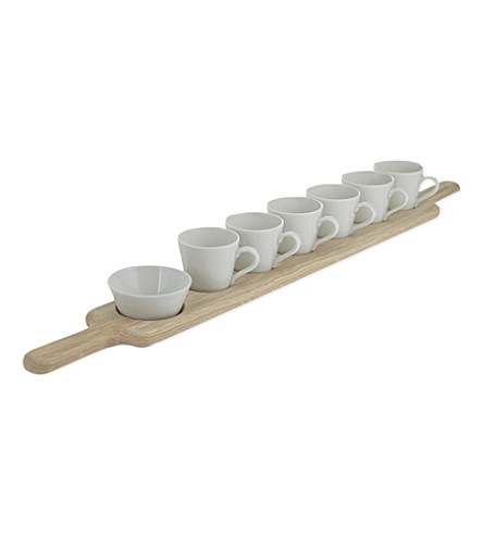 LSA Paddle espresso set