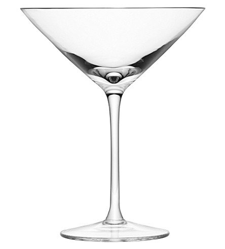 LSA Set of four assorted Lulu champagne and cocktail glasses