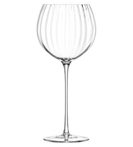 LSA Set of four Aurelia balloon glasses