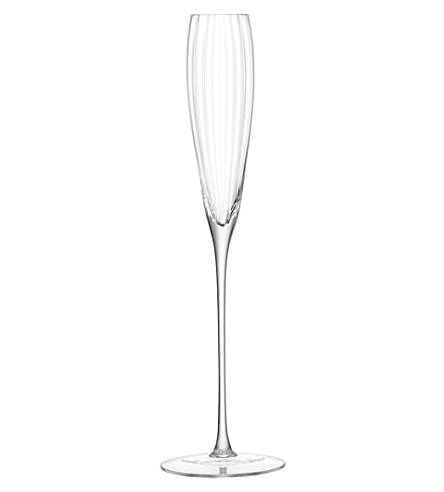 LSA Set of two Aurelia grand champagne flutes