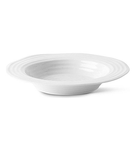SOPHIE CONRAN Sophie Conran rimmed soup plate (White