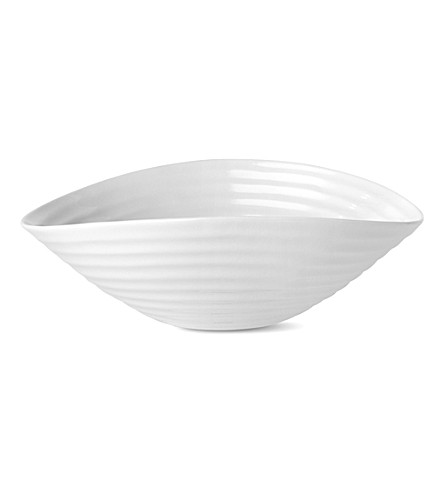 PORTMEIRION Sophie Conran small salad bowl (White