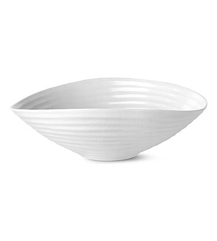 PORTMEIRION Sophie Conran medium salad bowl (White