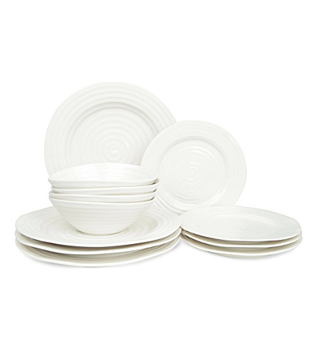 PORTMEIRION Sophie Conran 12-piece dinner set