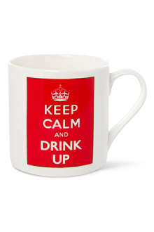 MCLAGGAN SMITH MUGS Keep Calm and Drink Up mug