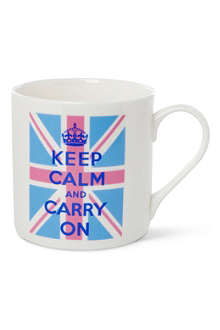 MCLAGGAN SMITH MUGS Keep Calm and Carry On Union Jack mug