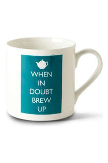 MCLAGGAN SMITH MUGS When in Doubt Brew Up mug