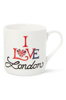 MCLAGGAN SMITH MUGS I Love London mug
