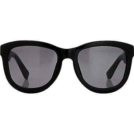 LINDA FARROW The Row wayfarer-style sunglasses (Black
