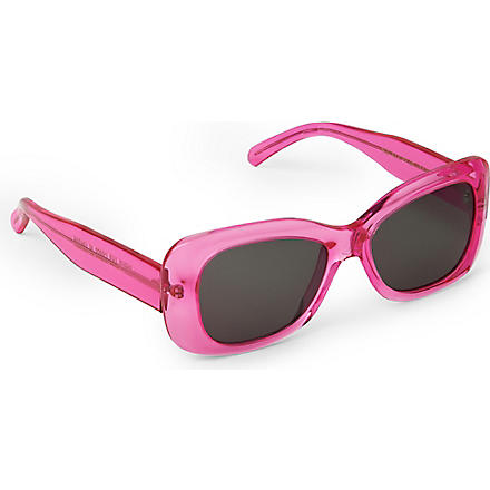 CUTLER AND GROSS Classic Jackie O square-frame sunglasses (Pink