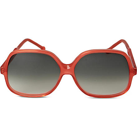 CUTLER AND GROSS Square-frame sunglasses (Watermelon