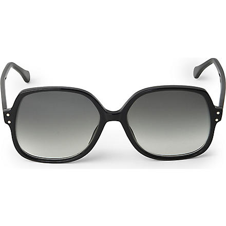 CUTLER AND GROSS Square-frame sunglasses (Black