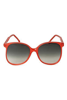 CUTLER AND GROSS 1970's Ali McGraw round-frame sunglasses